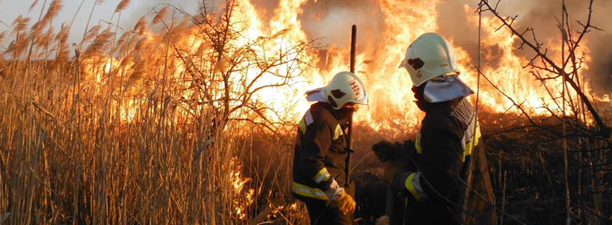 Tűzvédelmi szakterület aloldal fejlécképe
