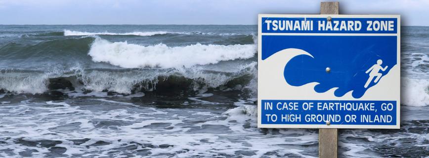 Katasztrófatípusok - Teendő Szökőár (Tsunami, Cunami) Veszélye esetén aloldal fejlécképe