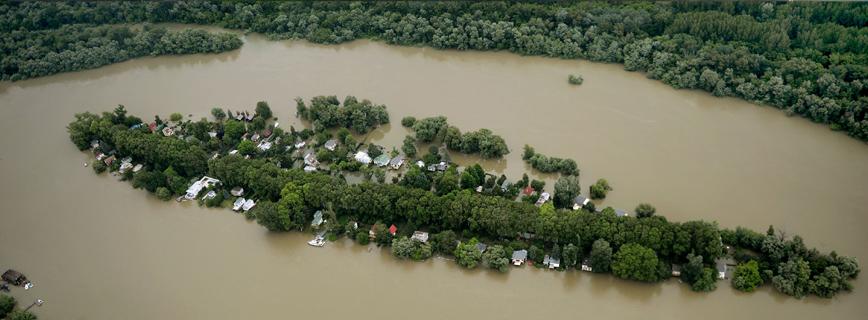 Katasztrófatípusok - Mit tegyünk a hirtelen áradás során? aloldal fejlécképe