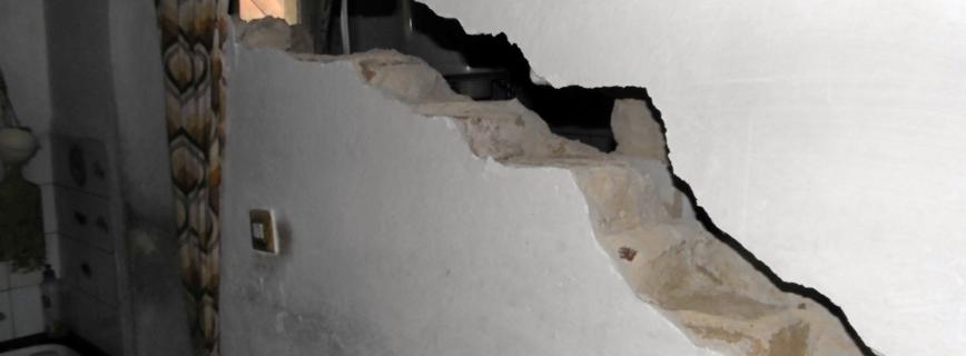 Katasztrófatípusok - földrengés aloldal fejlécképe