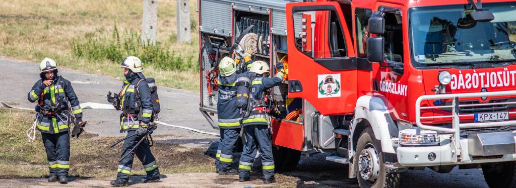 Önkormányzati tűzoltóságok aloldal fejlécképe