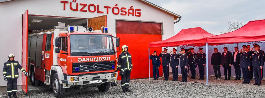 Önkéntes tűzoltó egyesületek aloldal fejlécképe