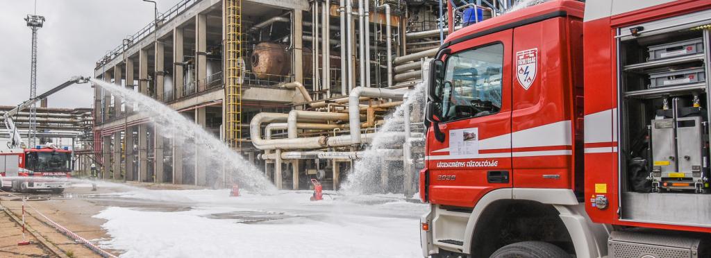Létesítményi tűzoltóságok aloldal fejlécképe
