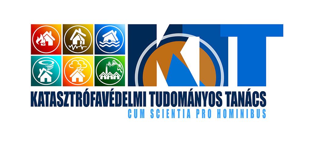 A Katasztrófavédelmi Tudományos Tanács logója.