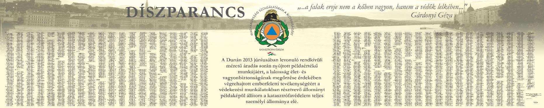 2013. július 19. díszparancsról készült kép, kattintásra nagyítható