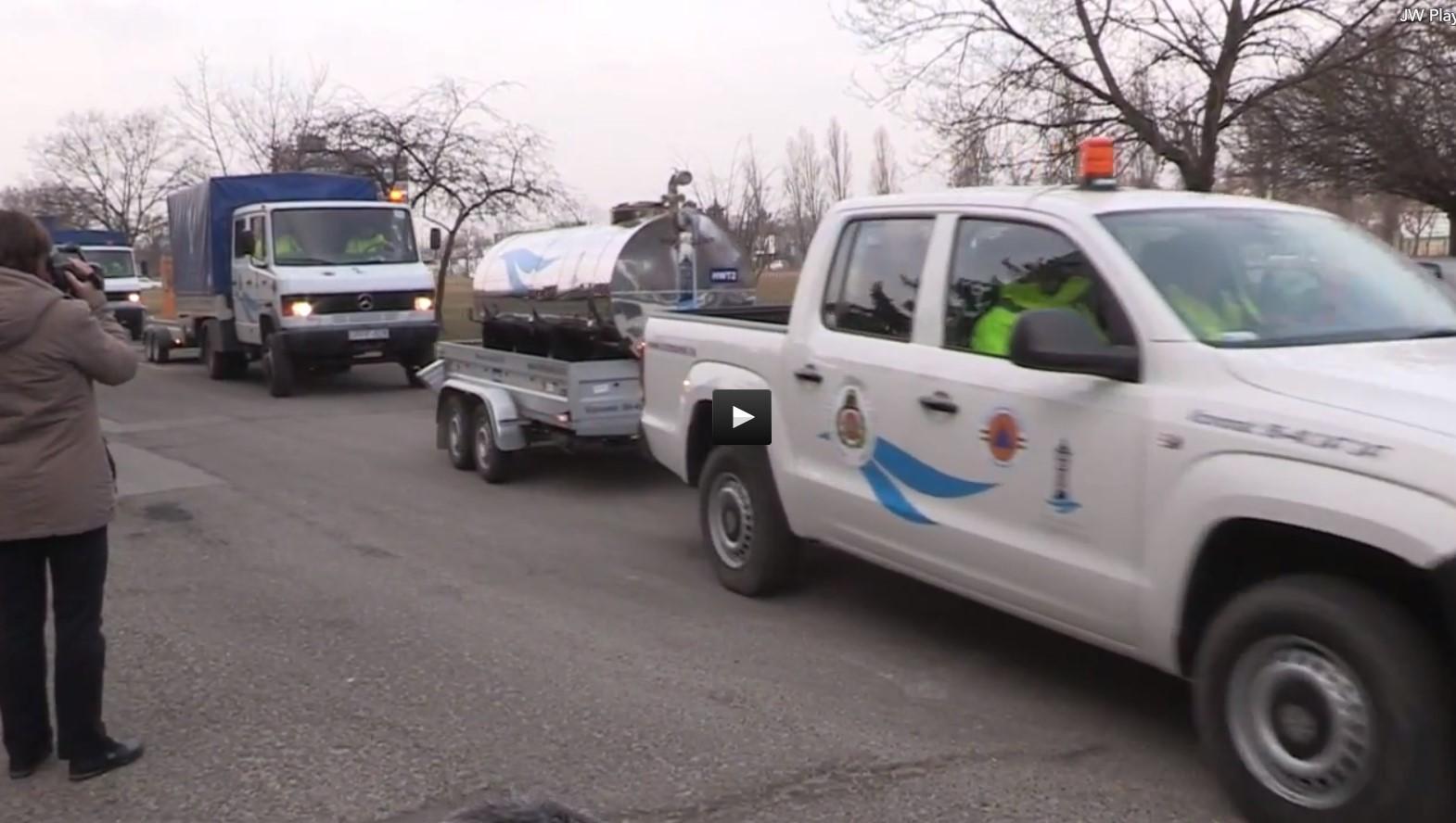 Magyar segítség az árvíz sújtotta Albániának