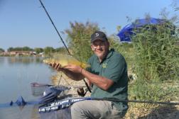 A legnagyobb kifogott hal közel nyolc és fél kilós volt.