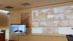 Előadás az online vízvédelmi konferencián